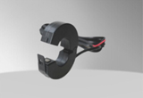 Round type clamp on current transformer